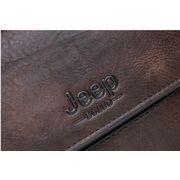 Мужской портфель, сумка JEEP BULUO, коричневый П1678