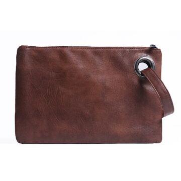Клатч сумка женская, коричневый П1685