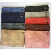 Женские сумки - Клатч сумка женская, коричневый П1685