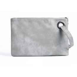 Клатч сумка женская, серый 1686