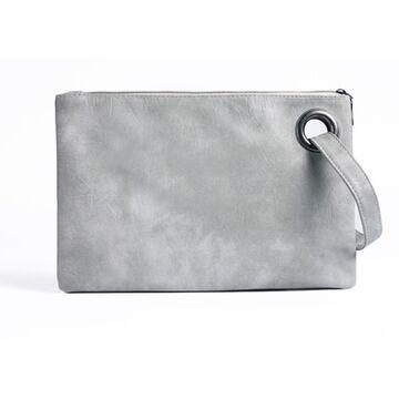Клатч сумка женская, серый П1686