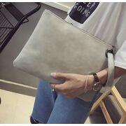 Женские сумки - Клатч сумка женская, серый П1686