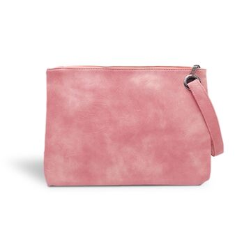 Клатч сумка женская, розовый П1688