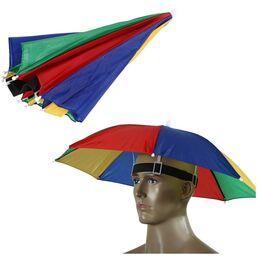 Зонтик шапка 0070