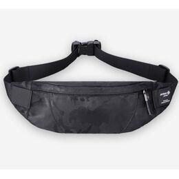 """Поясная сумка мужская """"HK"""", черный камуфляж 1704"""