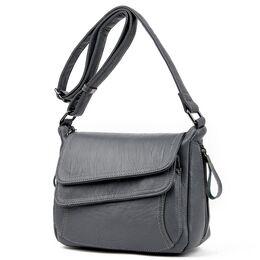 Женская сумка PHTESS , серая 1708