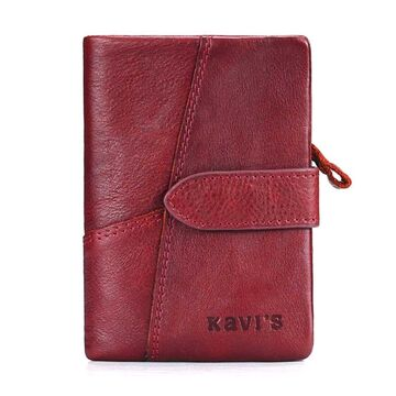 Женское портмоне KAVI'S, красный П1719