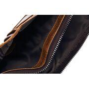 Мужское портмоне KAVIS, коричневый П1721