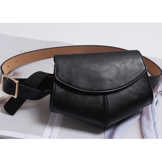 Поясные сумки - Сумка на пояс для женщин, SWDF , розовая П1729
