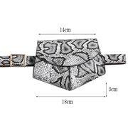 Сумка на пояс для женщин, SWDF , черная П1728