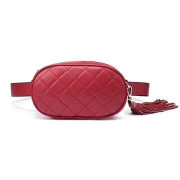 Поясные сумки - Сумка бананка, женская LOVEVOOK, красная П1731