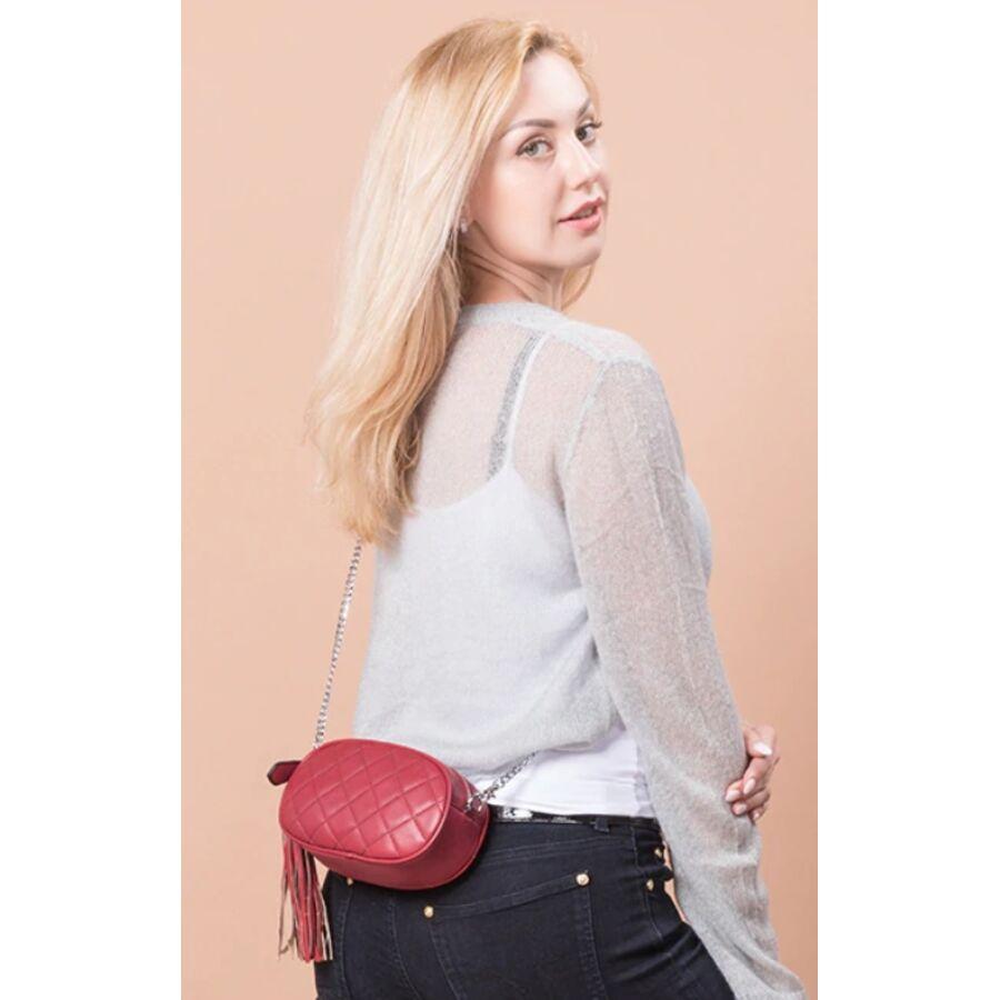 Поясные сумки - Сумка бананка, женская LOVEVOOK, коричневая 1732