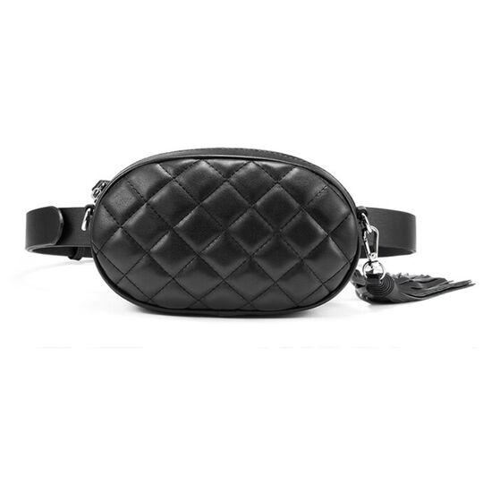 Поясные сумки - Сумка бананка, женская LOVEVOOK, черная П1733