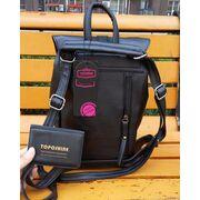 Женские рюкзаки - Женский рюкзак, черный П1736