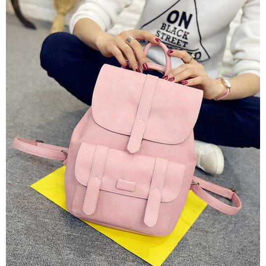 Женский рюкзак, розовый П1737