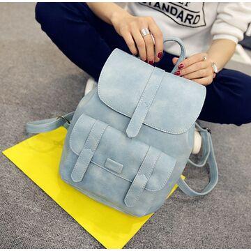 Женский рюкзак, голубой П1738