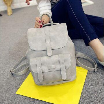 Женский рюкзак, серый П1739