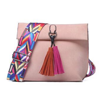 Женская сумка DAUNAVIA, розовая П1747