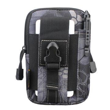 Поясные сумки - Сумка поясная армейская , серая П1752
