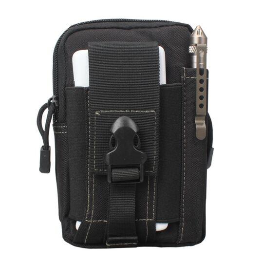 Поясные сумки - Сумка поясная армейская , черная П1756