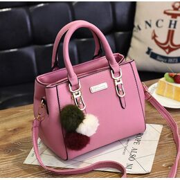 Женская сумка, розовая 1758