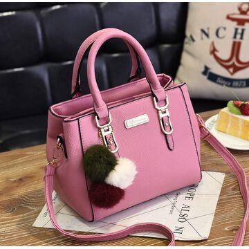 Женская сумка, розовая П1758
