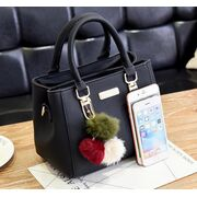 Женские сумки - Женская сумка, розовая П1758