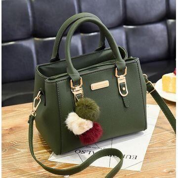 Женская сумка, зеленая П1759