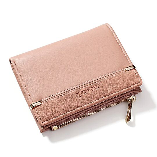 Женские кошельки - Женский кошелек, розовый П1760
