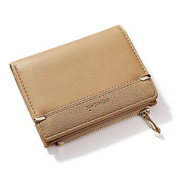 Женский кошелек, бежевый П1761