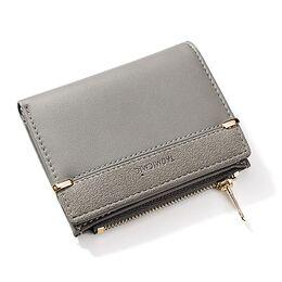 Женский кошелек, серый 1762