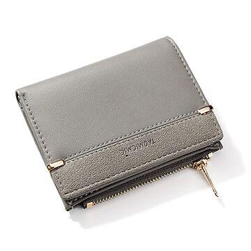 Женский кошелек, серый П1762