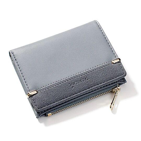 Женские кошельки - Женский кошелек, синий П1763