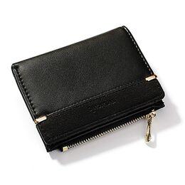 Женский кошелек, черный 1764