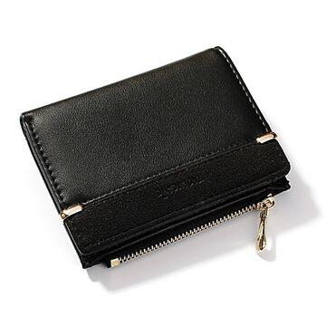 Женский кошелек, черный П1764