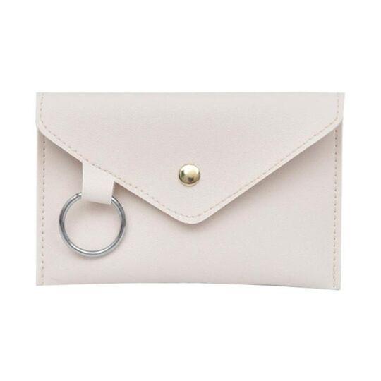Поясные сумки - Сумка клатч на пояс, белая П1765
