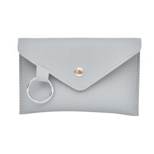 Поясные сумки - Сумка клатч на пояс, серая П1767