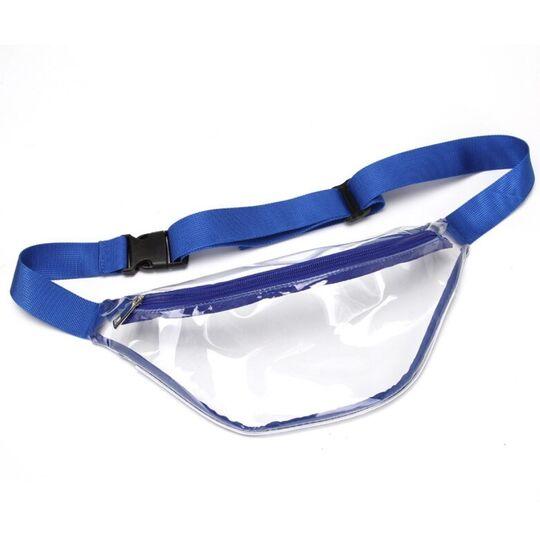 Поясные сумки - Сумка поясная женская прозрачная, П1774