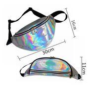 Поясные сумки - Сумка поясная женская прозрачная, П1779