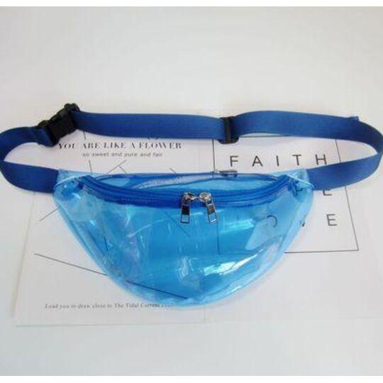 Поясные сумки - Сумка поясная женская прозрачная, П1786