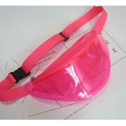 Поясные сумки - Сумка поясная женская прозрачная, П1787