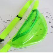 Поясные сумки - Сумка поясная женская прозрачная, П1788