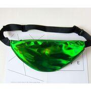 Поясные сумки - Сумка поясная женская прозрачная, П1789