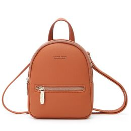 Женский рюкзак WEICHEN, коричневый 1808