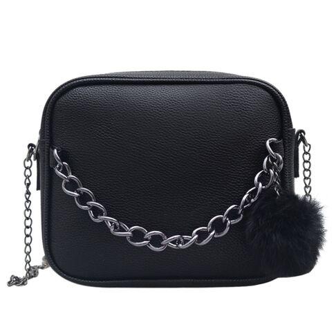 Женские сумки - Женская сумка SMOOZA, черная 1818