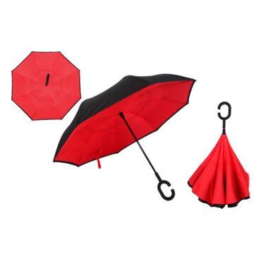 Зонтик, красный П0083