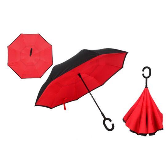 Женские зонты - Зонтик, красный П0083