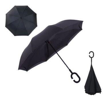 Зонтик, черный П0085