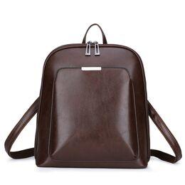 Женский рюкзак, коричневый 1820