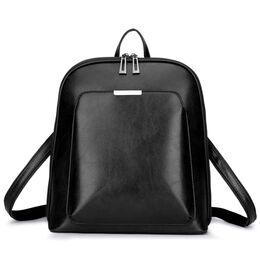 Женский рюкзак, черный 1821